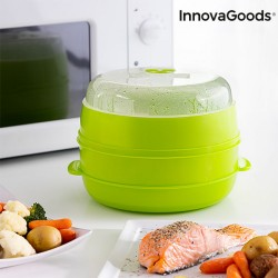 MICROWAVE DOUBLE STEAMER...